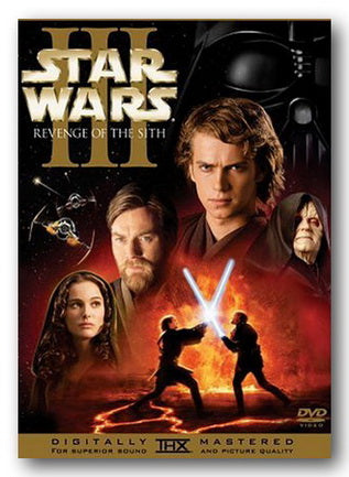 Star Wars III - Revenge of The Sith (2nd Hand 2 Disc DVD Set) | Campsie Books