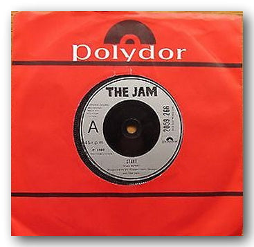 "The Jam - Start / Liza Radley (2nd Hand 7"" Single)"