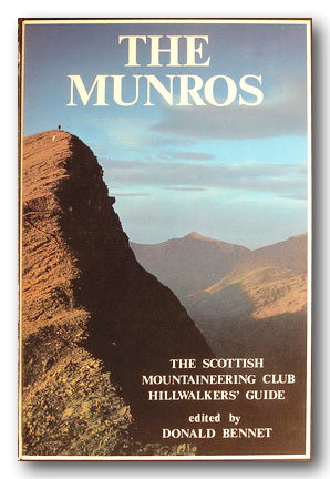 The Scottish Mountaineering Club - The Munros (2nd Hand Hardback)