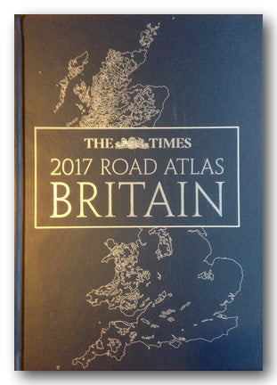 The Times - 2017 Road Atlas Britain (2nd Hand Leatherette Hardback) | Campsie Books