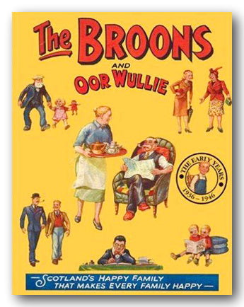 The Broons & Oor Wullie - The Early Years 1936-1946 (2nd Hand Hardback)