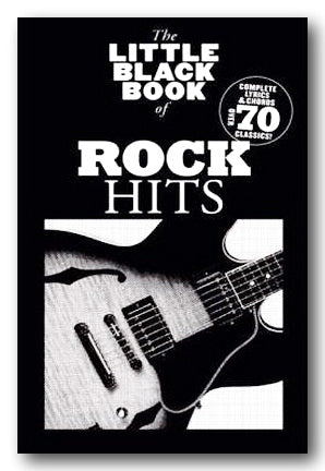 The Little Black Book of Rock Hits (2nd Hand Softback) | Campsie Books