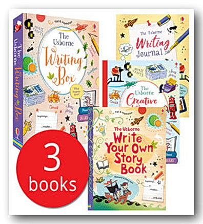 The Usborne Writing Box (New Box Set of 3 Books)