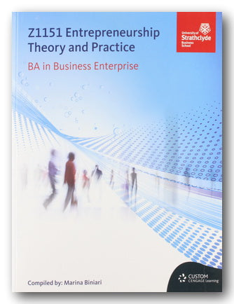 University of Strathclyde (BA Bus. Enterprise) - Z1151 Entrepreneurship, Theory & Practice (2nd Hand Paperback) | Campsie Books