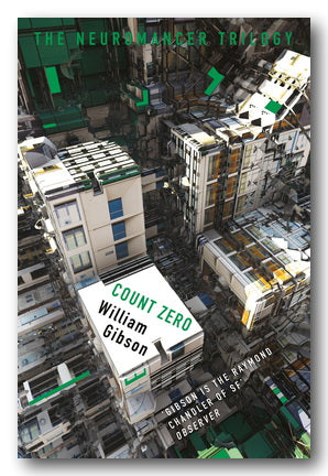 William Gibson - Count Zero (Sprawl Series #2) (2nd Hand Paperback) | Campsie Books