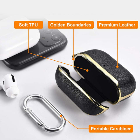 Leather-airpod-case
