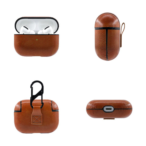 Leather personalize airpod cases3.