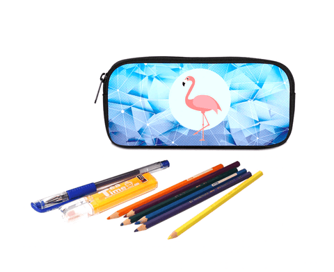 Customized pencil case and pencil crayons