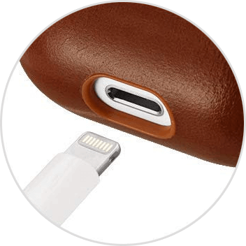 charging port of airpod case