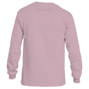 Salamander Pink Power Logo Long Sleeve