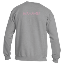 Salamander Pink Power Logo Sweatshirt