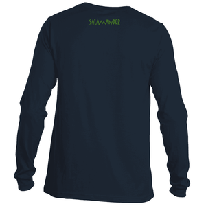 Salamander Green Logo Long Sleeve