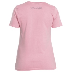 Salamander Ladies Pink Power Logo Tee