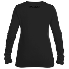 Salamander Ladies Black Monochromatic Long Sleeve