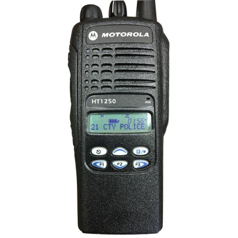 Motorola HT1250 Portable Handheld Radio - Limited Keypad (RADIO ONLY)