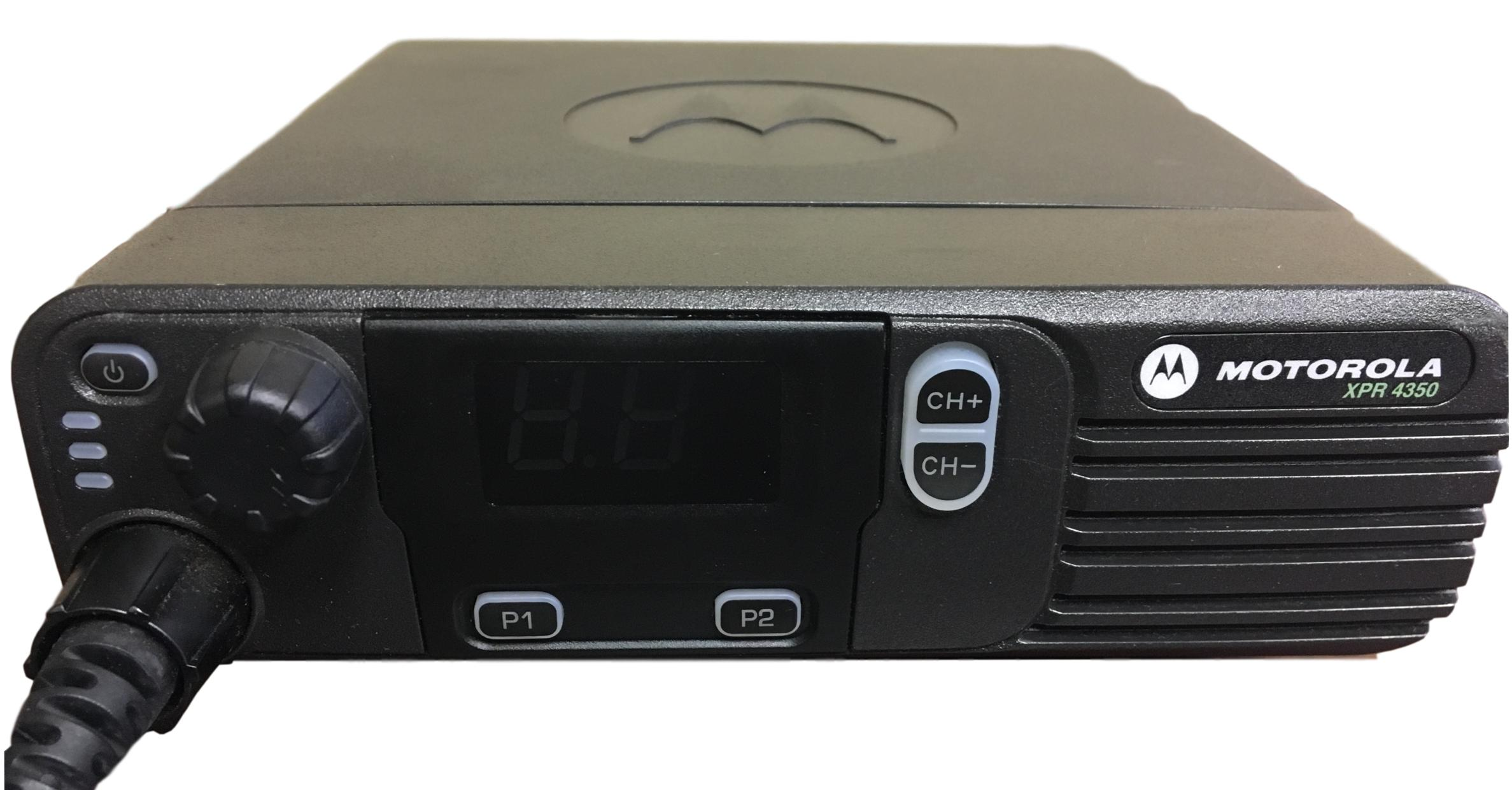 Motorola XPR4350 TRBO Digital Mobile Vehicle Radio