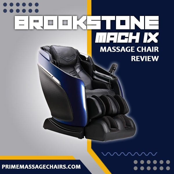 Brookstone Mach IX Massage Chair Review