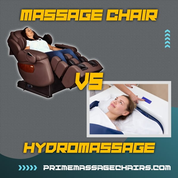 Massage Chair vs Hydromassage