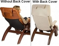 Perfect Chair with & without Back Cover Comparison