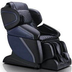 Brookstone BK-450 3D Massage Chair in Black and Blue
