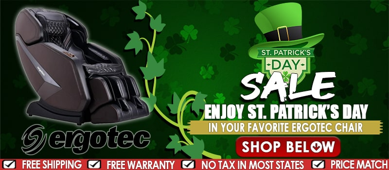 Ergotec St. Patrick Day Sale
