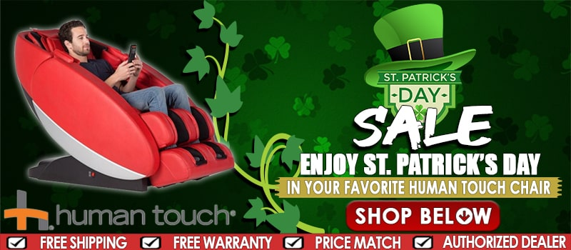 Human Touch St. Patrick Day Sale