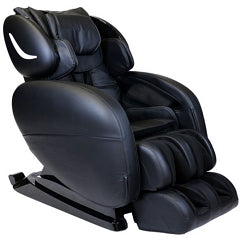 Infinity Smart Chair X3 3D/4D Massage Chair in Black with White Background