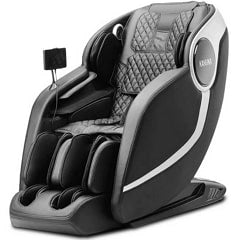 Kahuna EM-Arete Massage Chair in Black with White Background