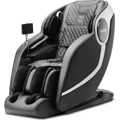 Kahuna EM Arete Massage Chair in Black with White Background