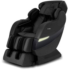 Kahuna SM-7300S Massage Chair in Black with White Background