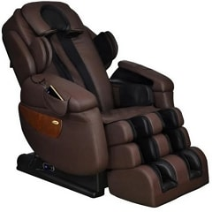 Luraco i7 Plus Massage Chair in Brown