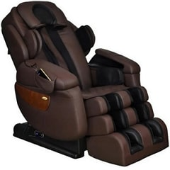 Massage Chair in Color Brown