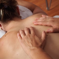 Massage by a Masseuse