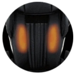 Infrared Heated Backrest & Feet