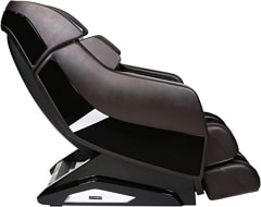 Infinity Riage X3 massage chair in brown side view.