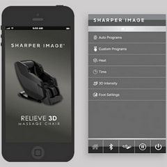 Sharper Image Relieve App-Enabled Controls