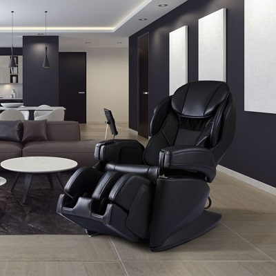 Synca JP1100 massage chair in black