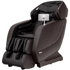 Titan Jupiter LE Massage Chair in Brown with White Background