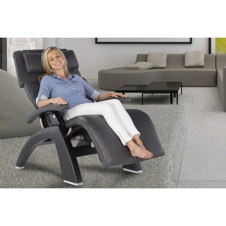 Human Touch Perfect Chair PC-LiVE PC-610 Zero Gravity Recliner live model in room