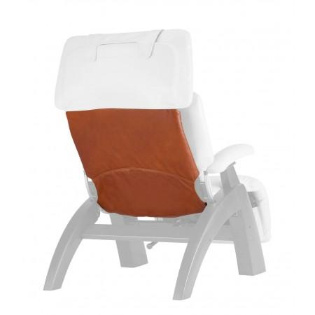 Human Touch Perfect Chair Back Cover in Cognac
