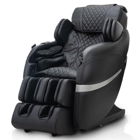 Positive Posture Brio Sport Massage Chair in black left side view
