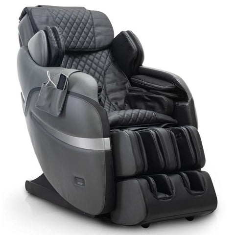 Positive Posture Brio Sport Massage Chair inn Graphite angled view