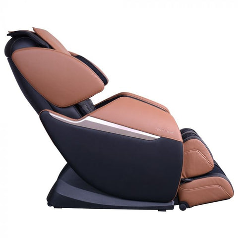 Brookstone BK-150 Massage Chair in Black & Toffee Side View