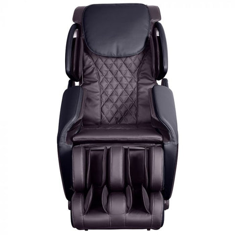 Brookstone BK-150 Massage Chair in Espresso & Black Front View