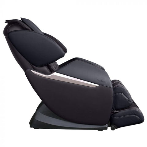 Brookstone BK-150 Massage Chair in Espresso & Black Side View
