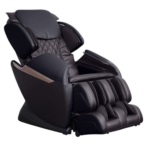 Brookstone BK-150 Massage Chair in Espresso & Black