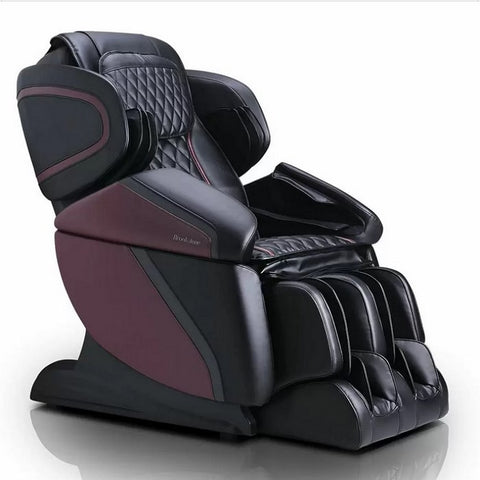 Brookstone BK-450 3D Massage Chair in Black & Burgundy