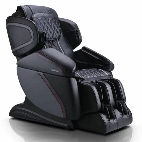 Brookstone BK-450 3D Massage Chair in Black & Gray