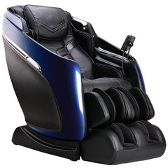 Brookstone Mach IX Massage Chair in Blue & Black
