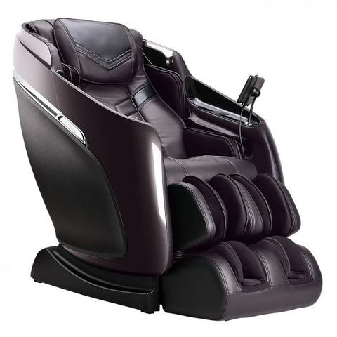 Brookstone Mach IX Massage Chair in Brown & Espresso